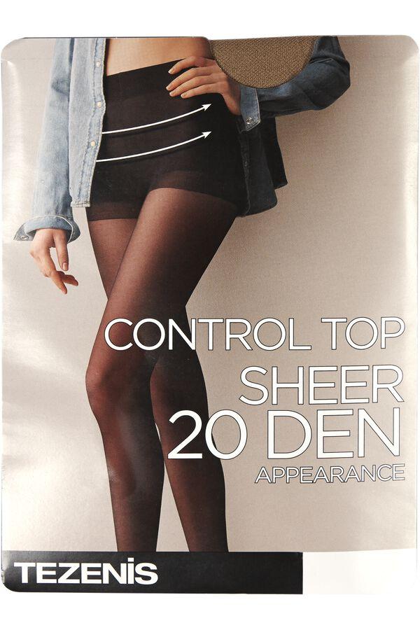 20 Den Control Tights