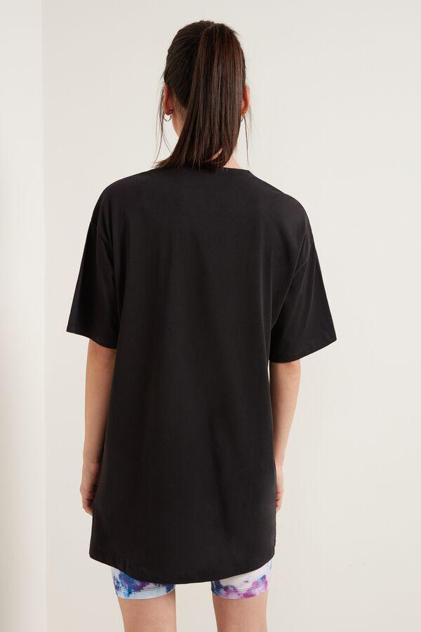 Long Oversized Cotton T-Shirt