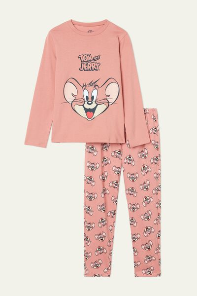 Pink Tom and Jerry Long Pyjamas