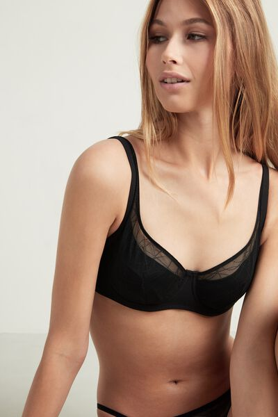 Paris Coral Bay Balconette Bra