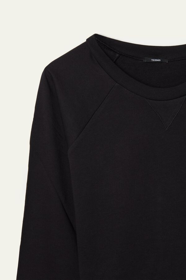 100% Cotton Basic Sweatshirt