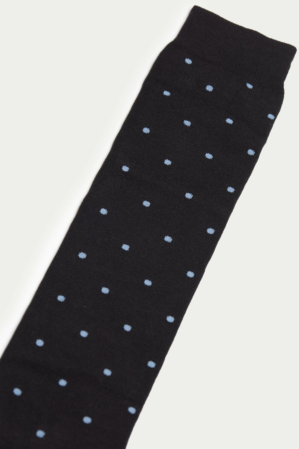Long Lightweight Patterned Cotton Socks