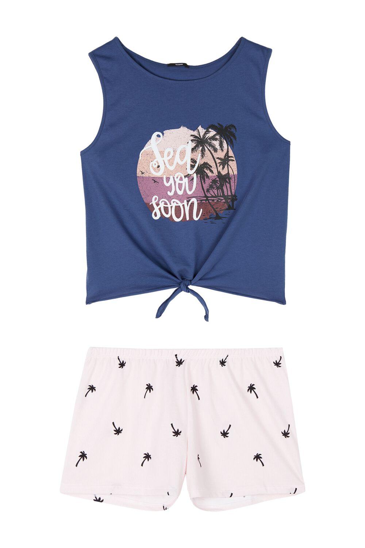Summer-print Pyjamas