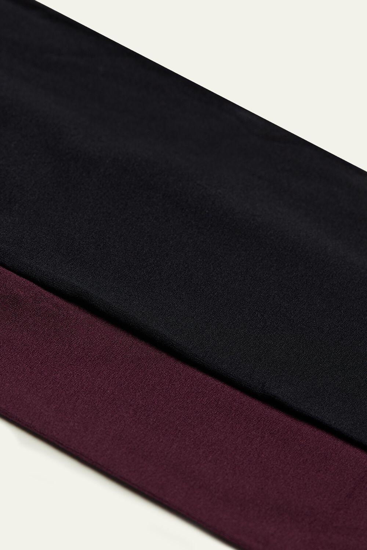 2 Collants Opaques en Microfibre 50 Den