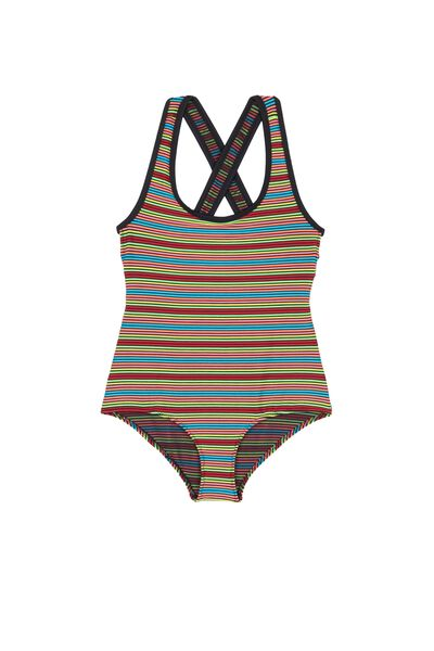 Maillot de Bain une Pièce Fille Colors Party