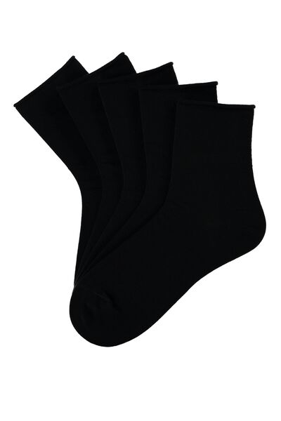 5 X COTTON SOCKS