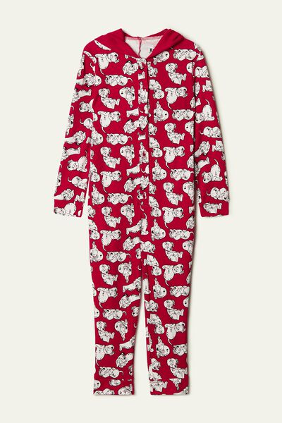 Disney 101 Cotton Onesie Pyjamas