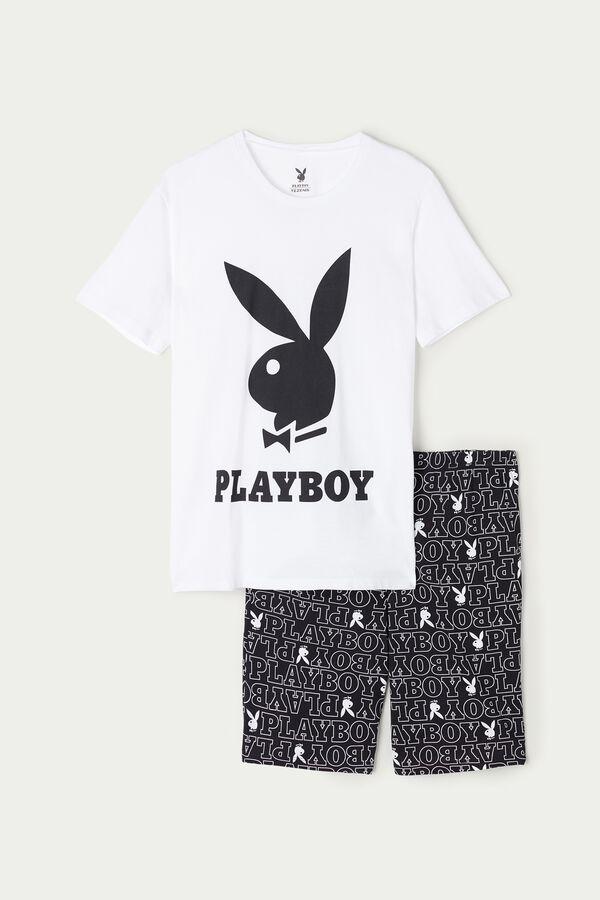 Pigiama Uomo Corto Playboy