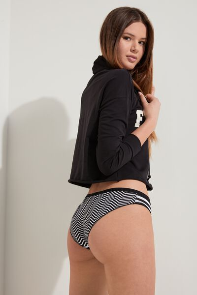 Printed Cotton Panties