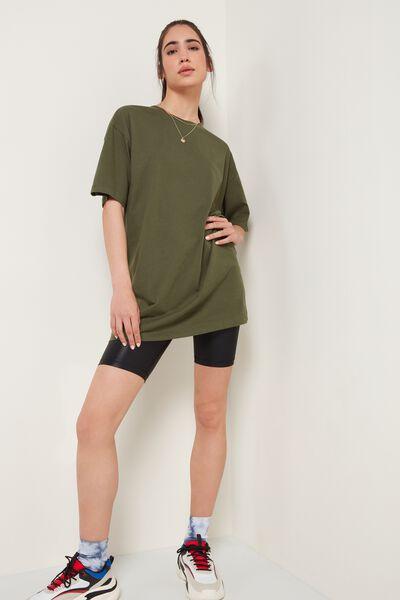 Oversize Long Cotton T-Shirt
