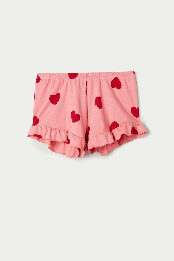 Pantalones Cortos con Volantes