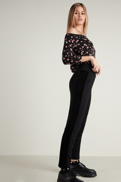 Velvet Cigarette Trousers