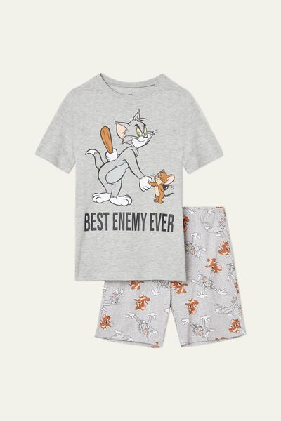 Men's Tom&Jerry Best Enemy Short Pyjamas