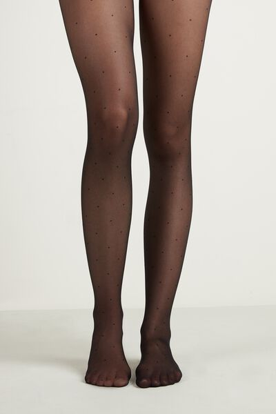 Patterned 20 Denier Tights