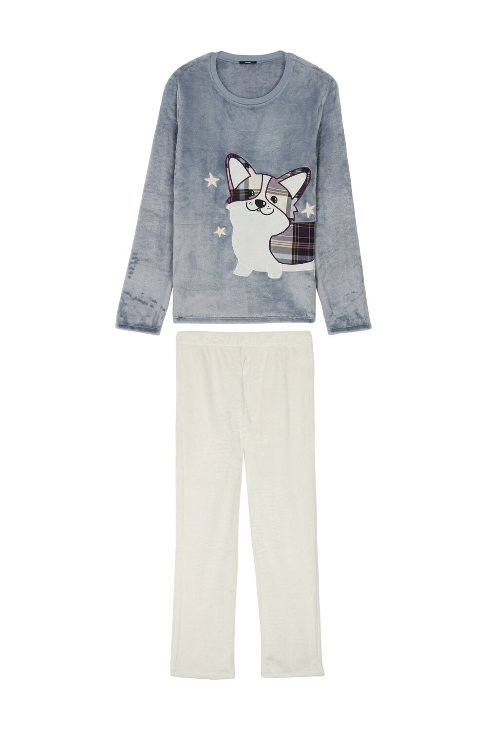 Long Sled Dog Pajamas