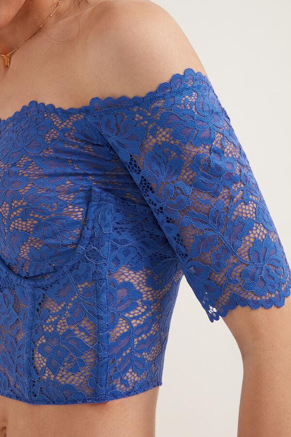 Short Lace Bustier