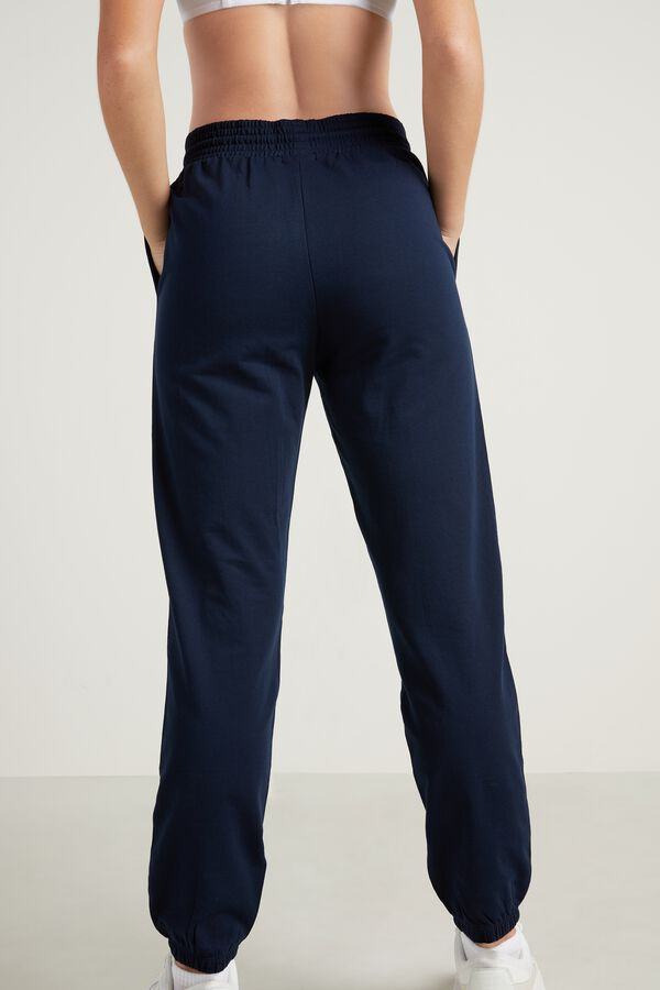 Joggers with Welt Pocket and Drawstring