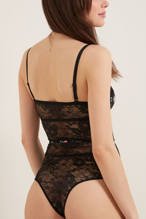 Forever Rose Padded Balconette Body