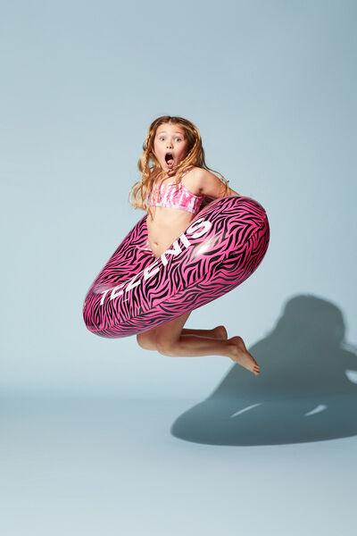Σουτιέν Μπικίνι Μπουστάκι για Κορίτσια Tie&Dye με Ύφανση Ριπ