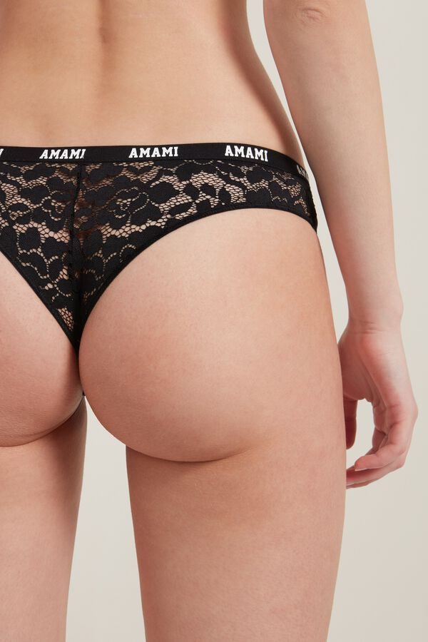 Love Lace High-Leg Brazilian Panties