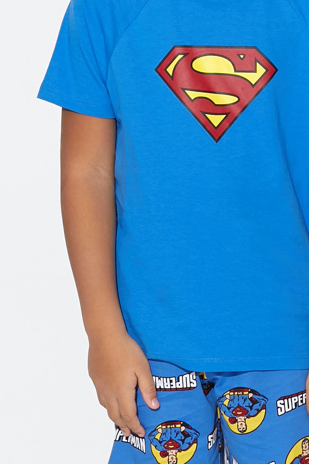 Short Superman Pyjamas