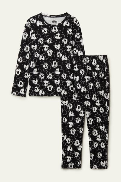 Mickey Mouse Long Cotton Pyjamas