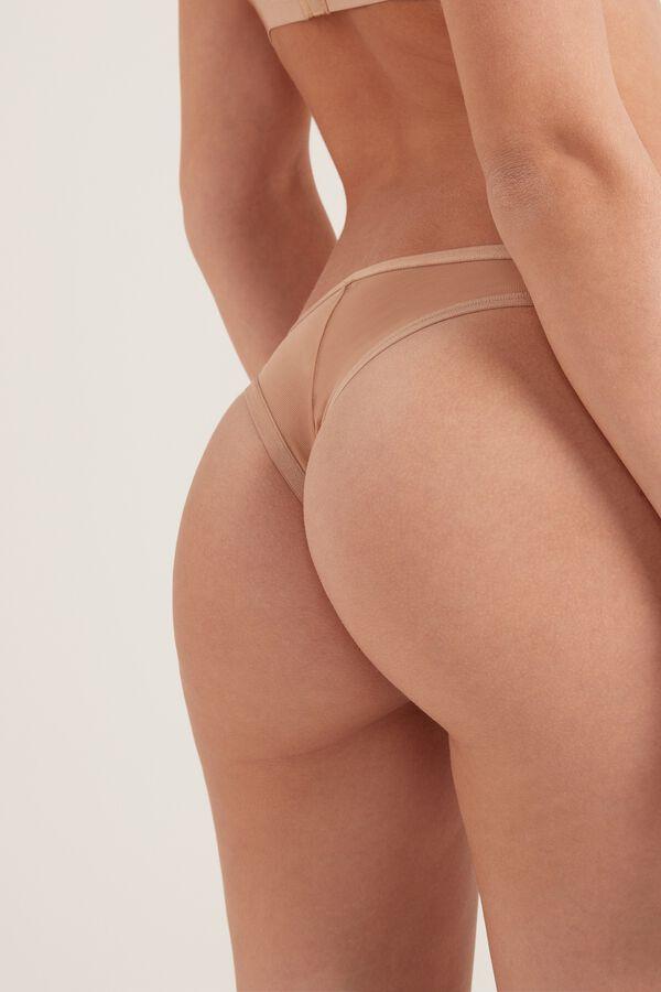 Culotte Brésilienne Tulle Invisible Mesh