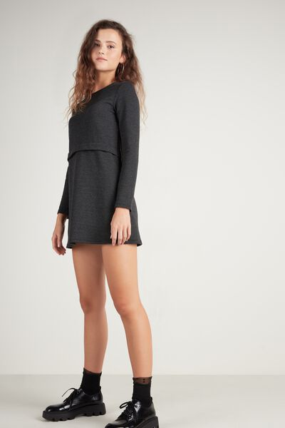 Basic Milano-Stitch Dress