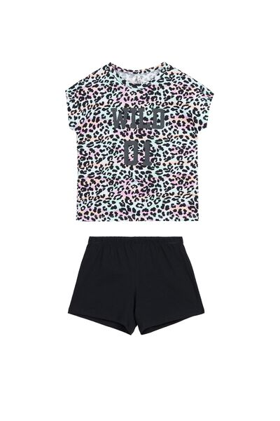 Pyjama Court T-shirt Animalier