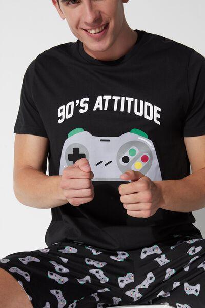 Men's Short '90s Attitude Pajamas