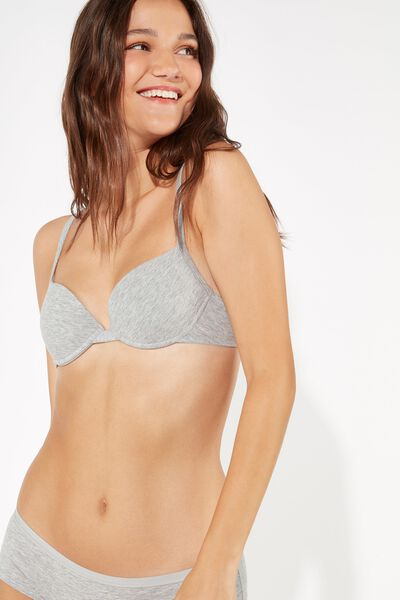 Reggiseno Push-Up in Cotone Athens