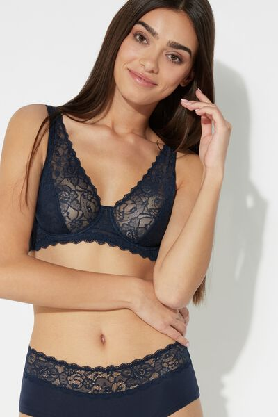Paris Lace Balconette Bra