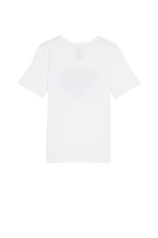 Short-Sleeved Cotton Comic Strip Top
