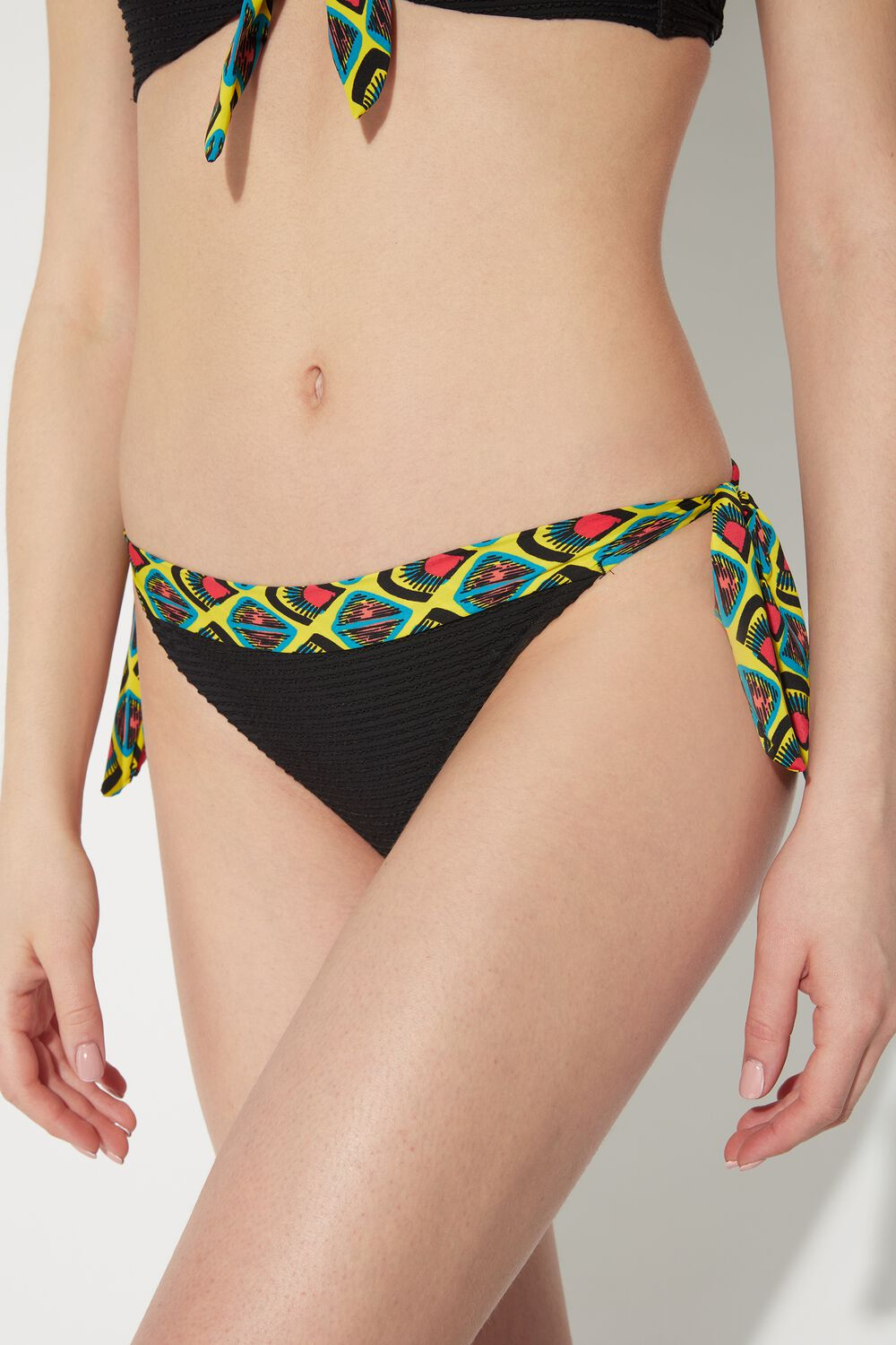Pop Tribe Bikini Bottoms with Ties