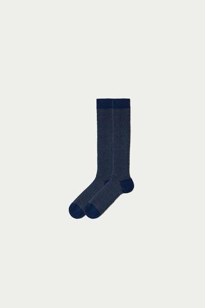 Chaussettes Hautes en Coton Léger Fantaisie