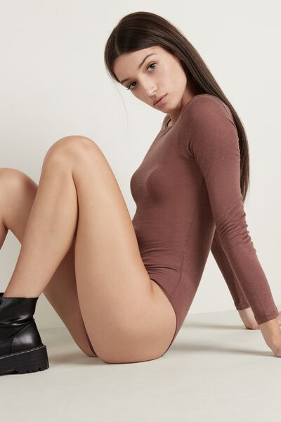 Long-Sleeved Merino Wool Body