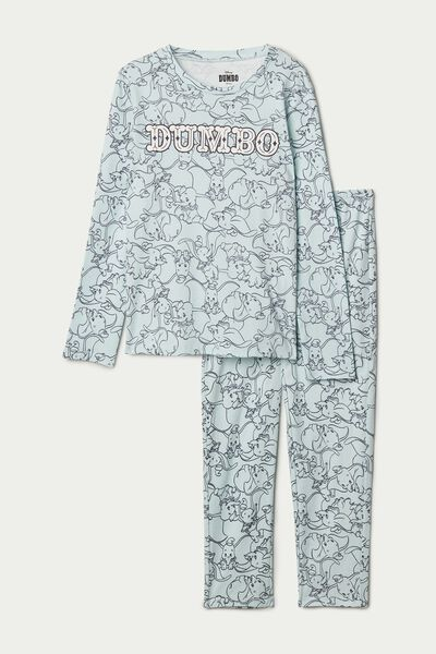 Disney Dumbo Long Cotton Pyjamas