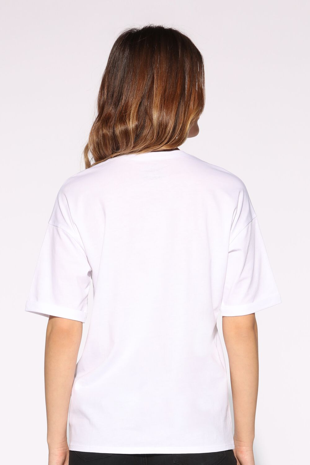 Dropped Shoulder T-Shirt in Jersey