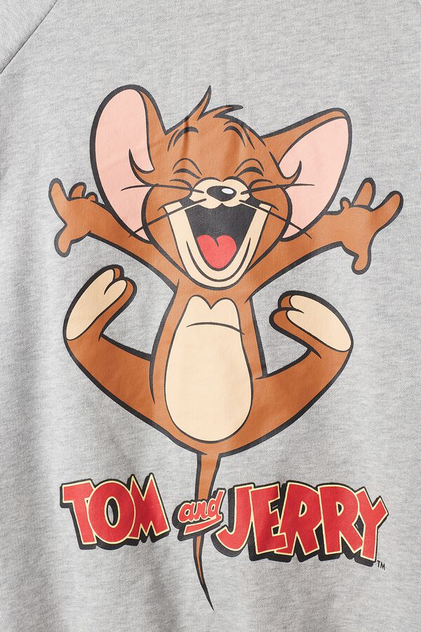 Camisola Felpa Estampado Tom and Jerry