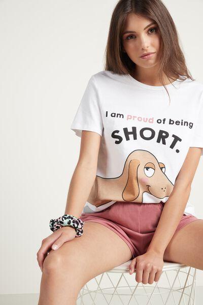Short Dachshund Print Pyjamas