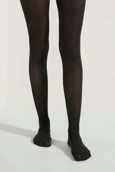 Opaque Tights with Cashmere