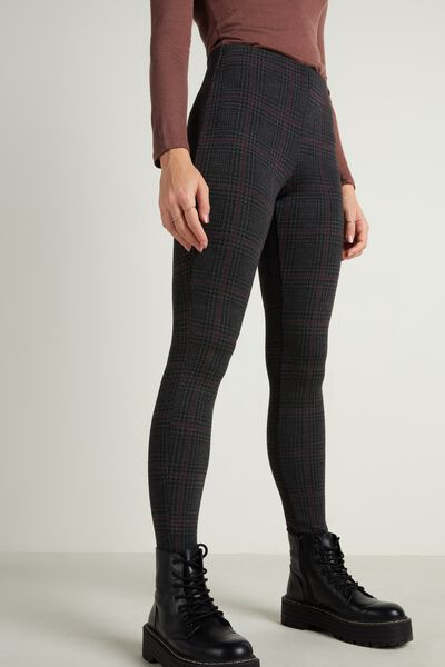 Milano-Stitch Jacquard Leggings