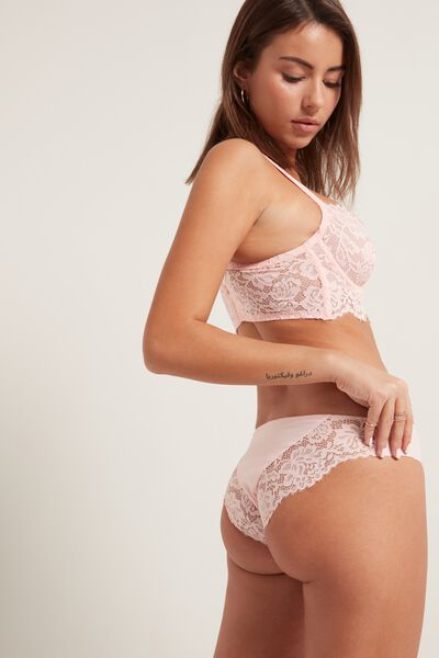 Venice Lace Laser-Cut Panties