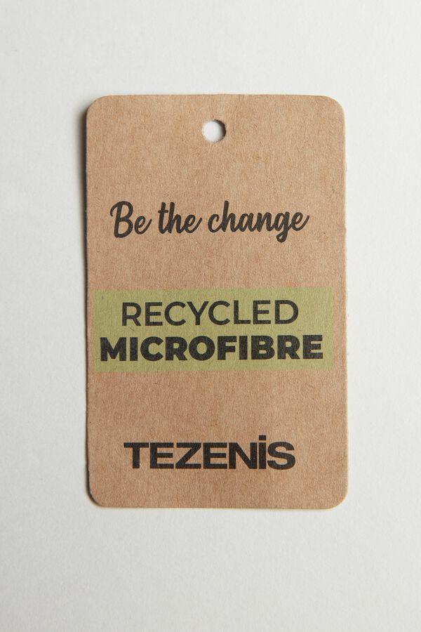 Balconette-Bikinioberteil aus recycelter Mikrofaser mit Schleife