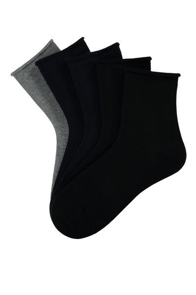 5 X Cotton Socks
