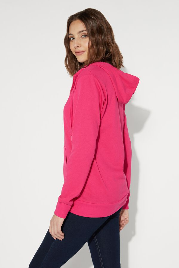Long-Sleeved Hooded Sweatshirt