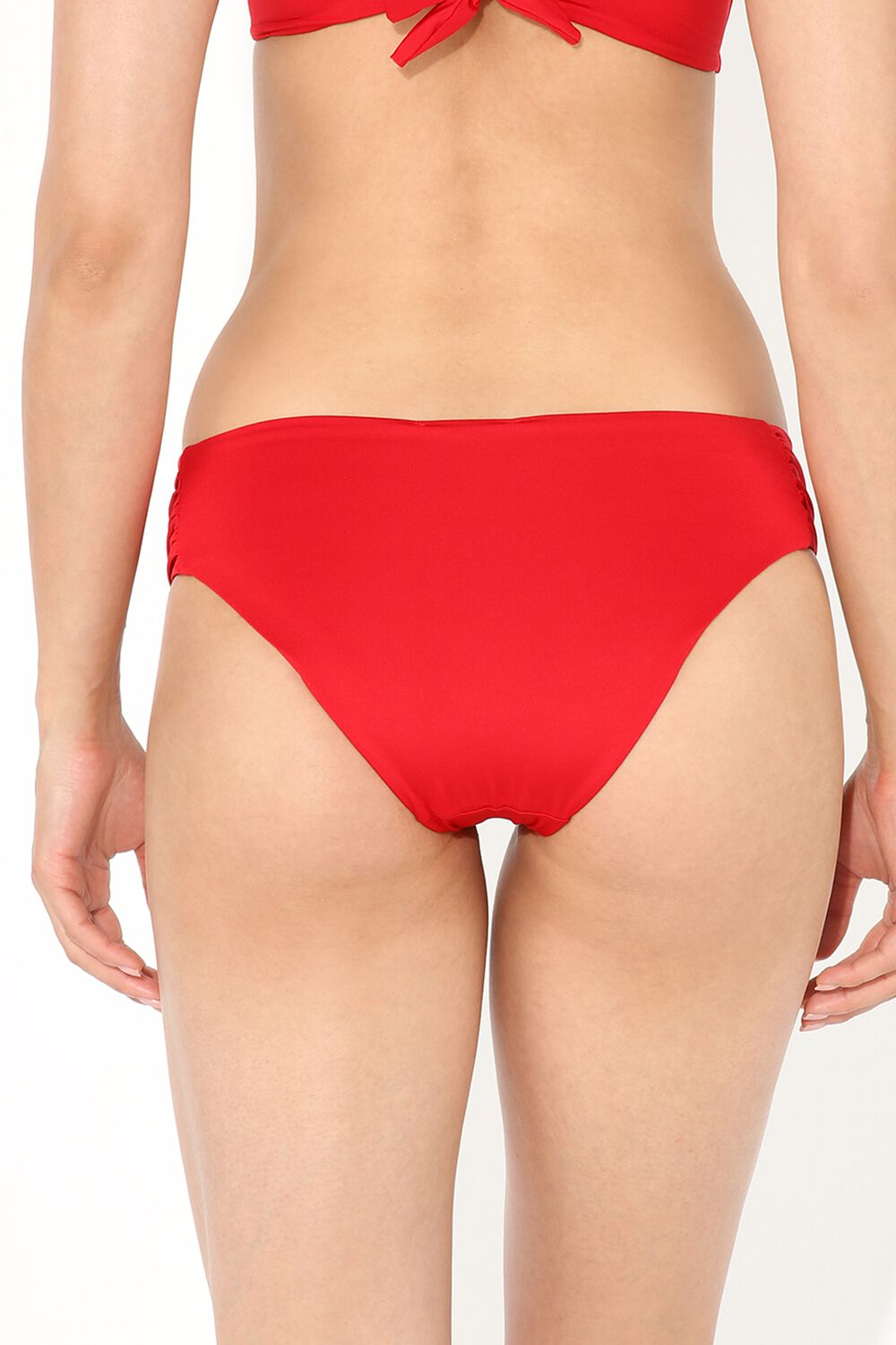 Bikini Briefs with Side Shirring