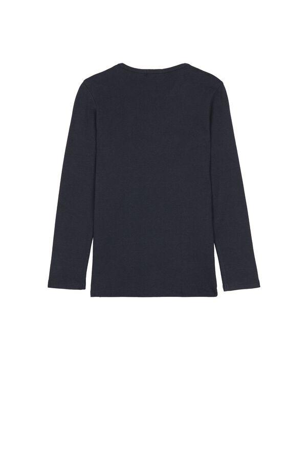 Long Sleeve Warm Cotton T-Shirt