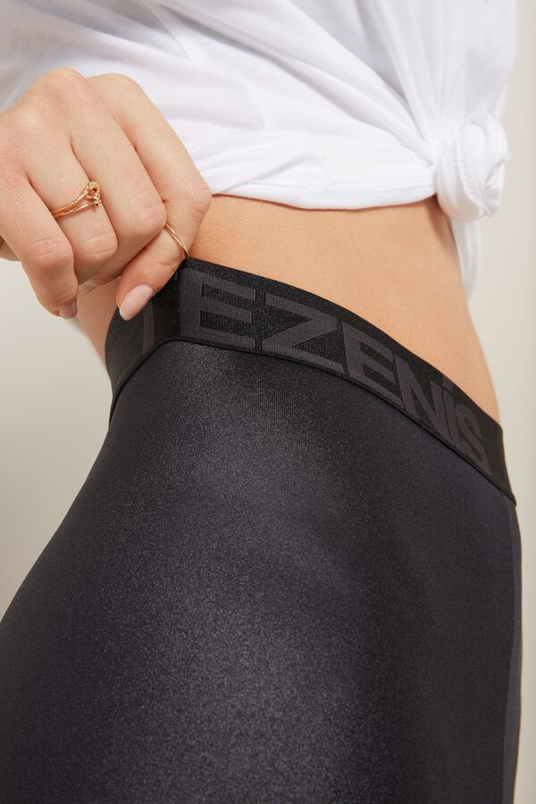 Glamour Active High-Waist Bike Shorts