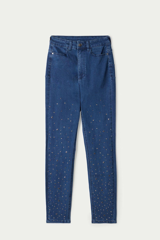 Skinny Džínsy s Cvočkami a Hviezdičkami